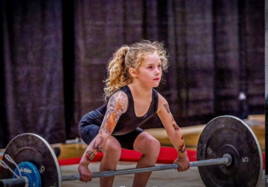 """""""Rory"""", 8-year-old, lift a deadlift up to 90 kg"""